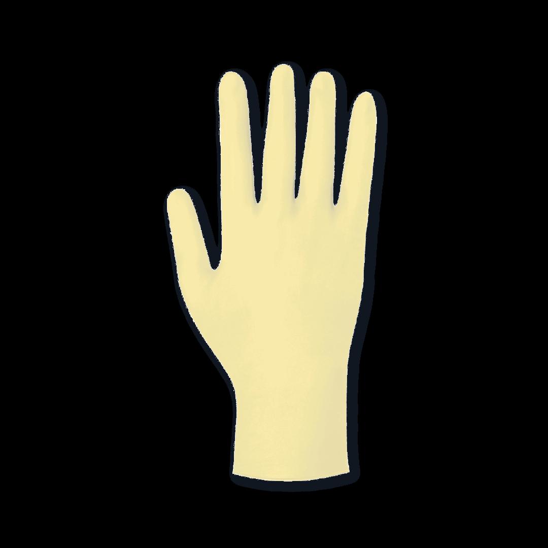 Meditrade Latex Handschuhe Compact+