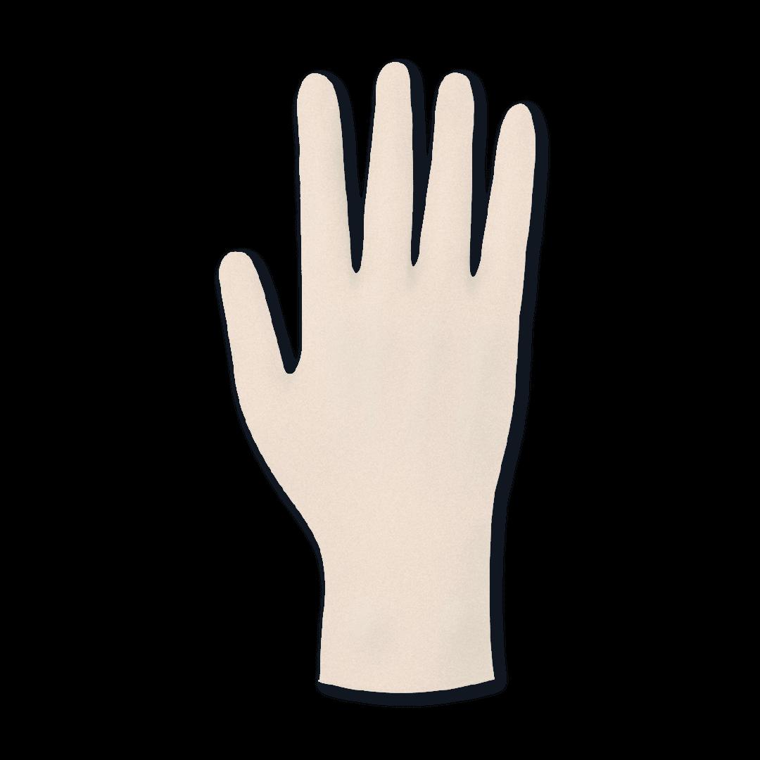 Meditrade Vinyl 2000 PF Einmalhandschuhe