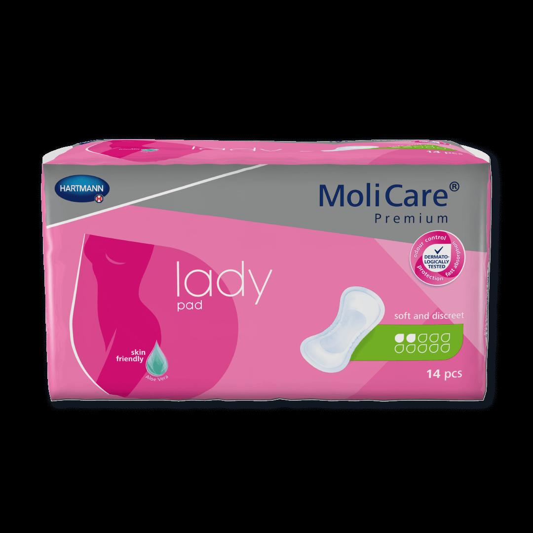 MoliCare Premium lady pad 2 Tropfen Inkontinenzeinlagen