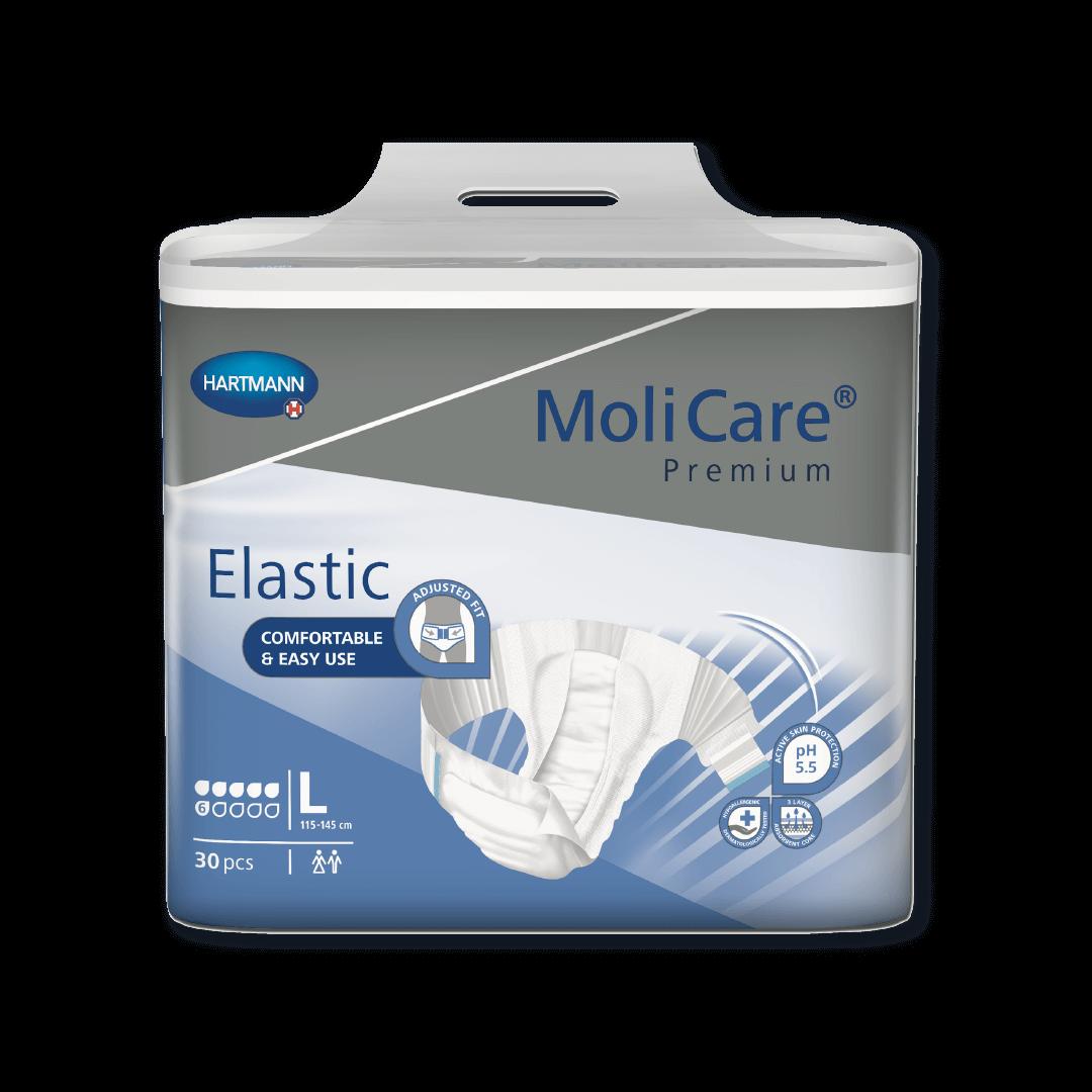 MoliCare Premium Elastic 6 Tropfen Inkontinenz Windeln